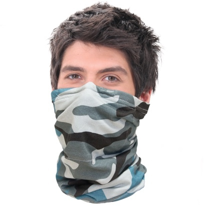 Click to enlarge - Anti-smog Nanofibre Scarf Mask