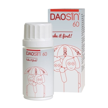 Click to enlarge - DAOSiN for Histamine Intolerance