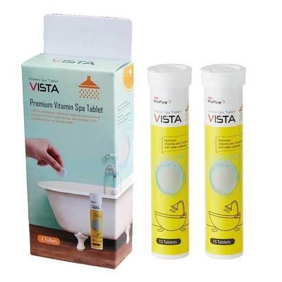 Click to enlarge - Vitamin C Dechlorinating Bath Fizzers