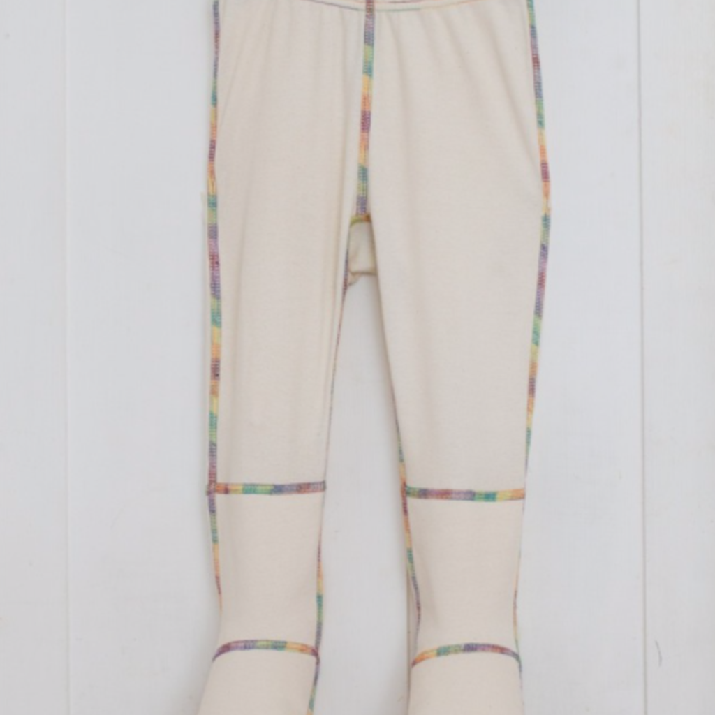 Child's PJ Bottoms with Foot Mitts for Eczema