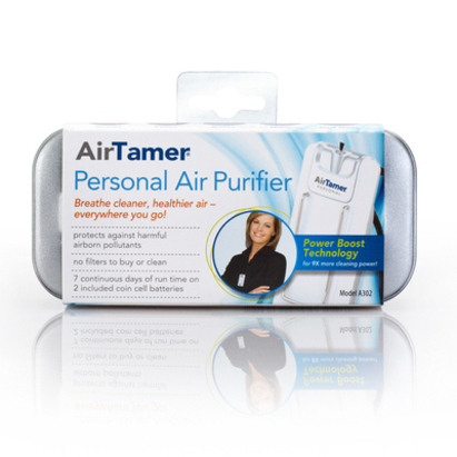 Click to enlarge - AirTamer A302 personal air ioniser