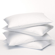 Featured tile feather fresh pillow