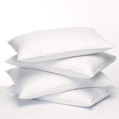 Natural Fill Feather Fresh Boilable Pillows For Asthma