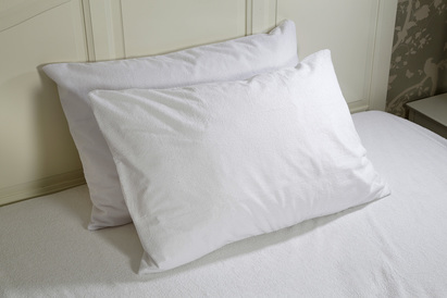 Click to enlarge - Waterproof Allergen Barrier Cover for Pillows