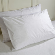 Cotton safe pillow protector category tile